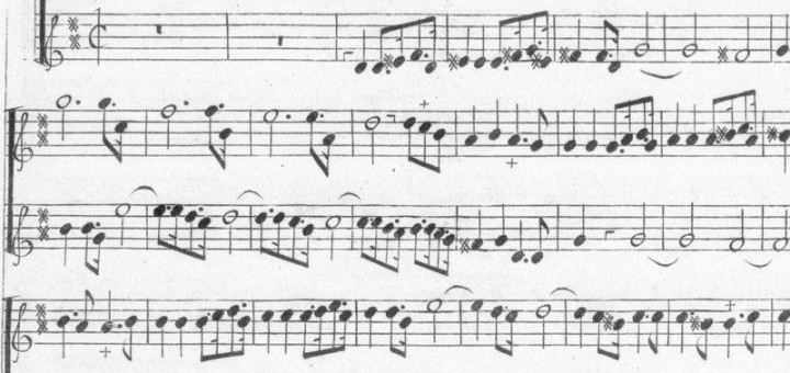fac-similés partitions et pédagogie flûtes à bec