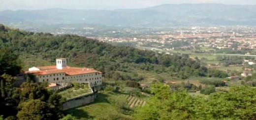 Couvent de Lucca en Toscane, Italie