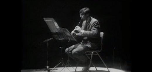 Pièce de Luciano BERIO pour flûte à bec