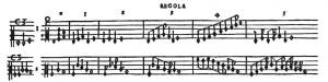 L'usage des figures pour les intervalles et sur les proportions selon Ganassi